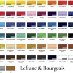 Nuancier acrylique Lefranc & Bourgeois